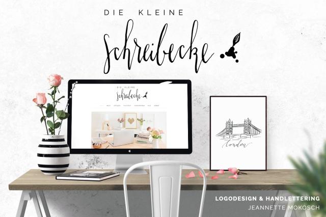 logo design handlettering kalligrafie